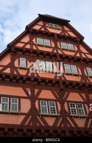 Old house in Esslingen am Neckar, Germany, Europe - Stock Photo