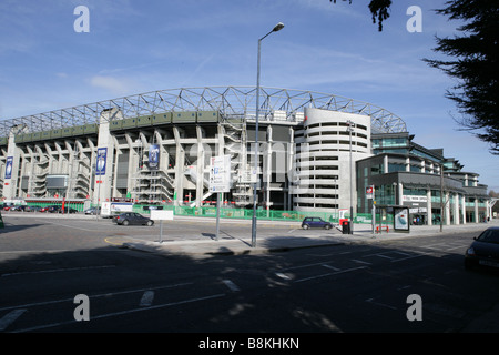 Twickenham Stadium south and West Stand - Stock Photo