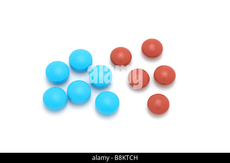 Tablets/Caplets - Stock Photo