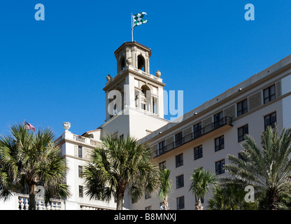 The famous Breakers Hotel in Palm Beach, Gold Coast, Florida, USA - Stock Photo