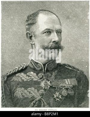 Sir Herbert Stewart 1843 1885 British soldier Hampshire - Stock Photo
