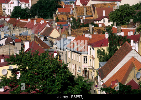 estonia, tallinn, old town - Stock Photo