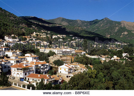 mijas, costa del sol, andalusia, spain - Stock Photo