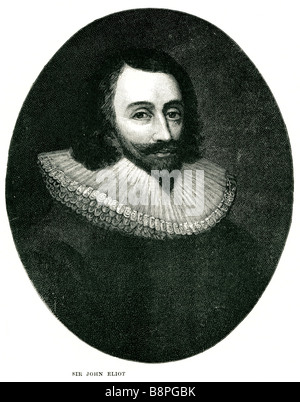 Sir John Eliot (11 April, 1592 - 27 November, 1632), English statesman, son of Richard Eliot (1546 - 22 June, 1609) - Stock Photo