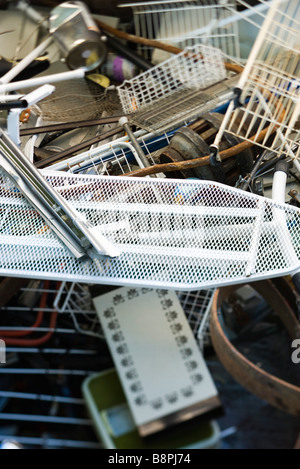 Scrap metal, full frame - Stock Photo