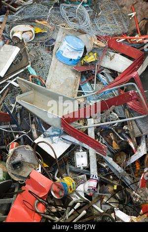 Scrap metal, full frame - Stock Photo