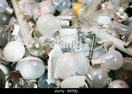 Used light bulbs, close-up - Stock Photo