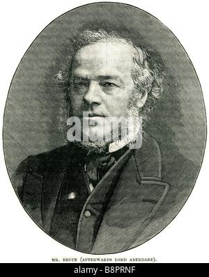 Mr Henry Austin Bruce Lord Aberdare 1815 1895 British statesman Home Secretary Lord President Council - Stock Photo