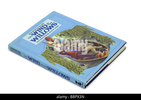Children's Book Wind in the Willows - Stock Photo