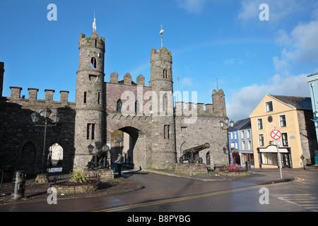 Castle in Macroom County Cork - Stock Photo