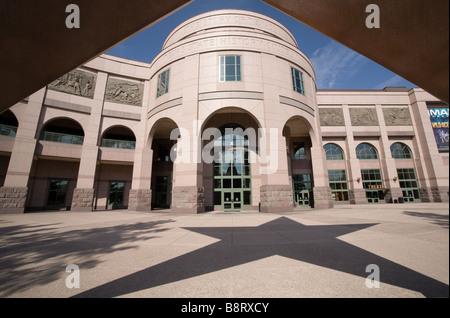 Austin, Texas - Texas State History Museum - Story of Texas - Stock Photo