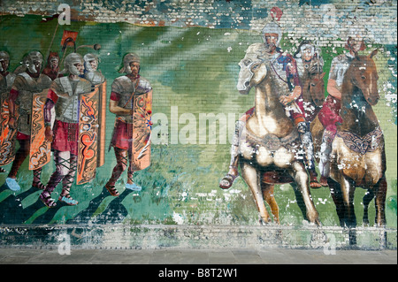 Wall Art Manchester Stock Photo: 134472180 - Alamy