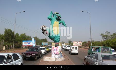 Hippo statue - Stock Photo