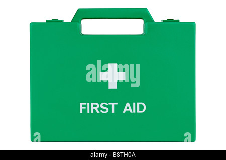 First Aid Box, Cut Out. - Stock Photo