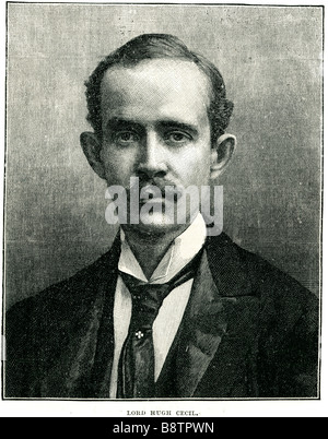 lord hugh cecil Hugh Richard Heathcote (Gascoyne-)Cecil, 1st Baron Quickswood PC (14 October 1869 – 10 December - Stock Photo