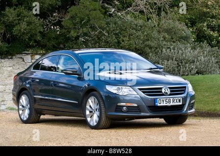 Volkswagen Passat CC Coupe 2009 - Stock Photo