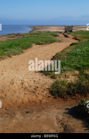 Stiffkey Saltmarshes, Norfolk, England - Stock Photo