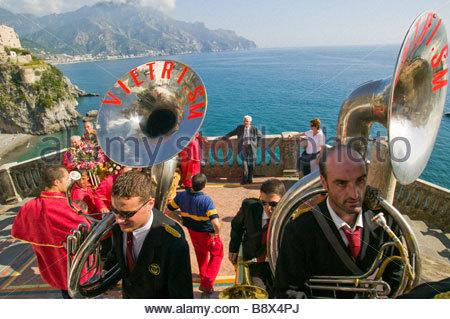 vietri sul mare, campania, italy - Stock Photo