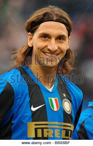 zlatan ibrahimovic'milano 14 12 2008 'serie a football championship 2008/2009 'inter-chievo 4-2 - Stock Photo