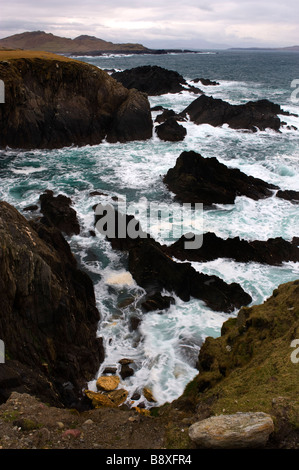 Atlantic Drive Achill Island Co Mayo Ireland - Stock Photo