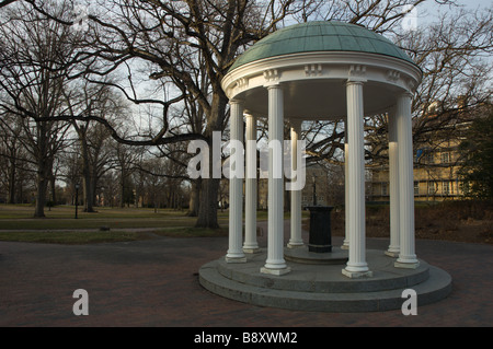 The Old Well, University of North Carolina at Chapel Hill - Stock Photo