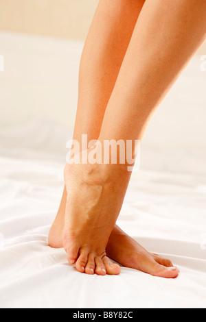 Womans legs - Stock Photo