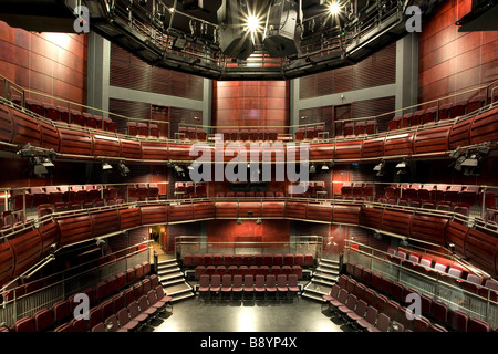 Inside Hall Two at The Sage Gateshead, Norman Foster's stunning music centre on the banks of the River Tyne. - Stock Photo