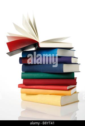 Pile of books - Stock Photo