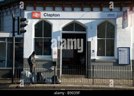 Clapton Station - Stock Photo