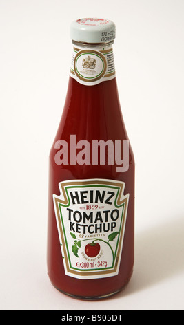 A Bottle Of Heinz Ketchup Stock Photo 134145222 Alamy