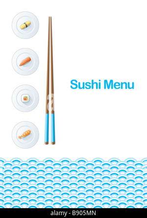 Sushi menu template stock photo royalty free image 22746910 alamy sushi menu template stock photo pronofoot35fo Gallery