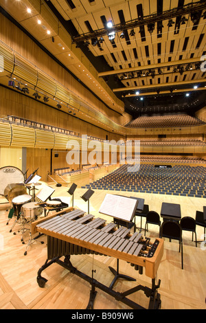 Inside Hall One at The Sage Gateshead, Norman Foster's stunning music centre on the banks of the River Tyne. - Stock Photo