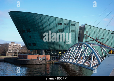 The Nemo Science & Technology Centre Amsterdam - Stock Photo