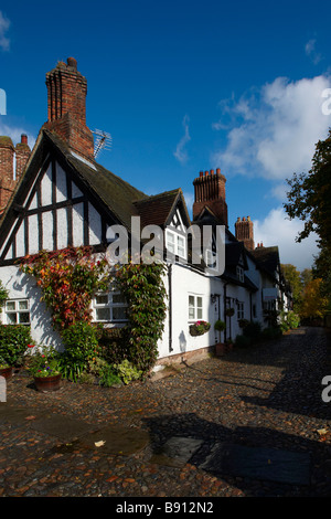 Autumn At Great Budworth Nr Northwich Cheshire UK - Stock Photo