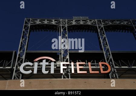 CitiField Stadium in Flushing Queens in New York - Stock Photo