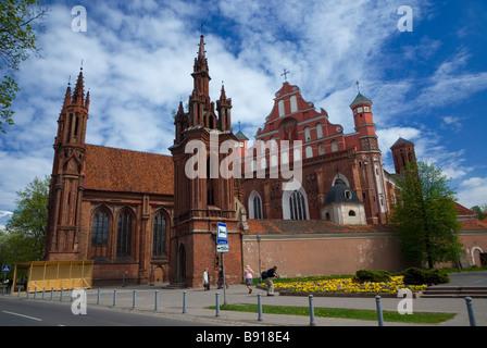 St. Ann church in Vilnius - Stock Photo