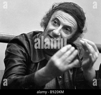 French actor Marcel Marceau - Stock Photo