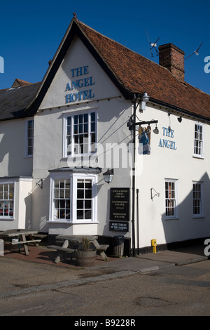 The Angel hotel Lavenham Suffolk England - Stock Photo