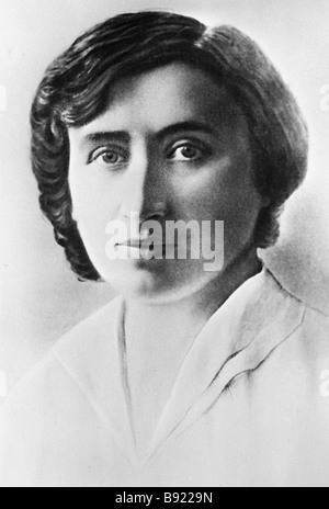 Rosa Luxemburg 1871 1919 prominent leader of the international workers movement - Stock Photo