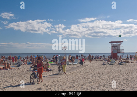 Pärnu Beach, Estonia, Europe - Stock Photo