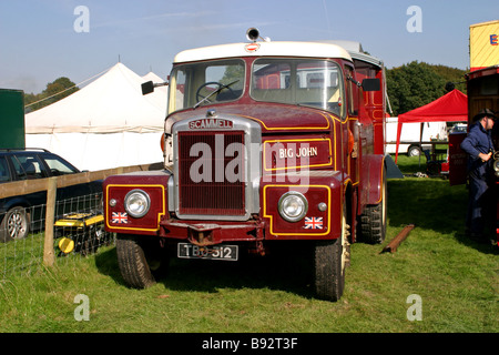 Scammell Highwayman Truck - Stock Photo