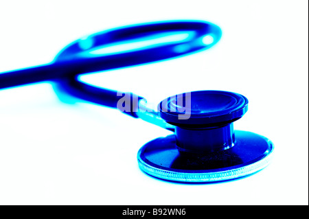 diagnostic medical stethoscope - Stock Photo
