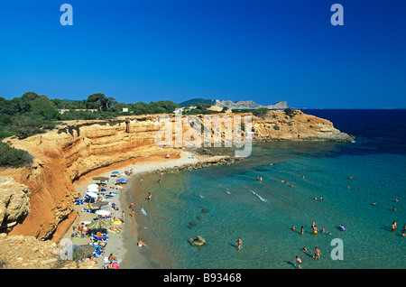 Sa Caleta Ibiza Balearic Islands Spain - Stock Photo