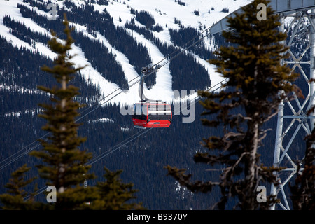 whistler british columbia canada - Stock Photo