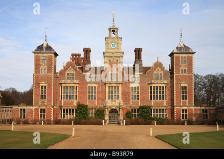 'Blickling Hall' National Trust property North Norfolk.  home, gardens and park. England. - Stock Photo