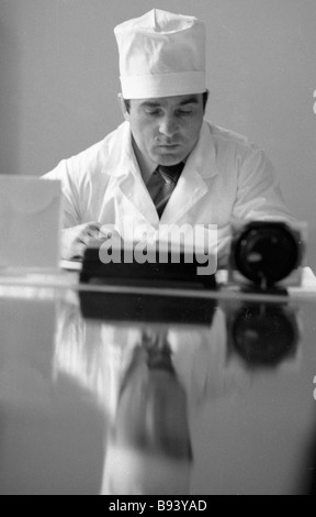 Makhachkala s health centre physician Ali Aliyev five time world champion in free style wrestling - Stock Photo