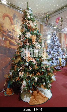 christmas trees for sale in a moscow store costing 80 000 rubles 3 200 and up - Decorated Christmas Trees For Sale