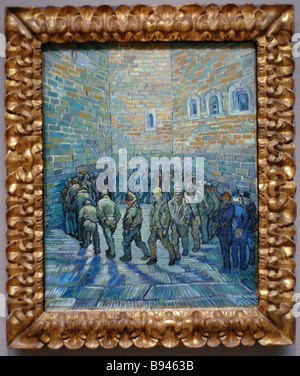 Vincent Van Gogh 1853 1890 The Prison Courtyard Oil on canvas 1890 It is among the gems of the new exhibition in - Stock Photo