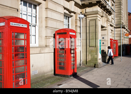 Central Post Office, Bolton, Greater Manchester, UK - Stock Photo