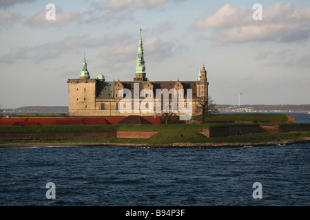 Kronborg Castle, Elsinore. Denmark. Europe. - Stock Photo